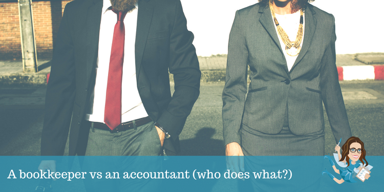 A bookkeeper vs an accountant (who does what?)